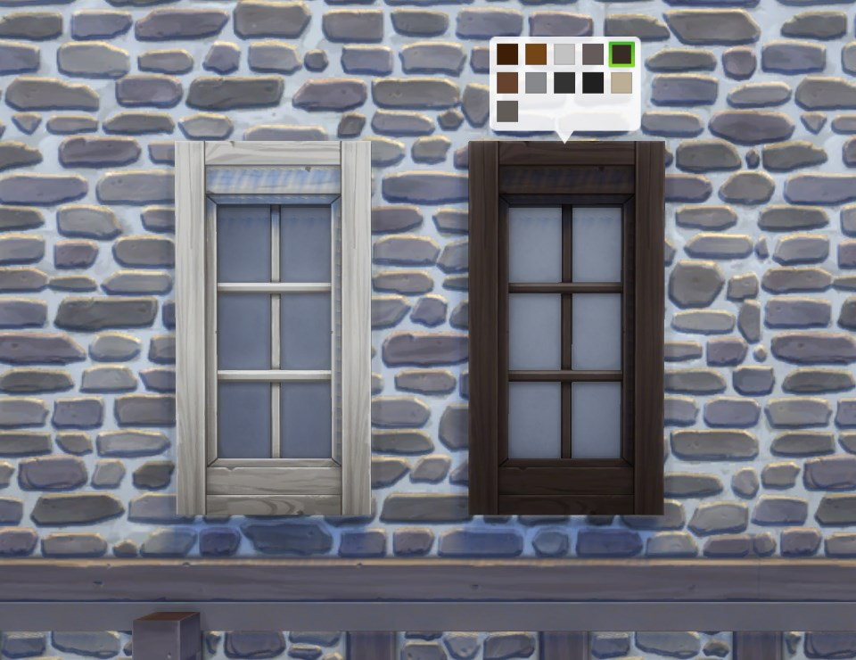 Mod the sims two tile house on a hill window for House tiles