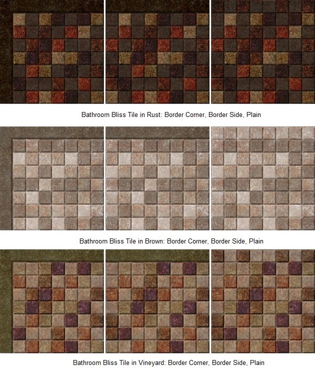 Mod The Sims Kitchen And Bath Stuff Maxis Match Tile
