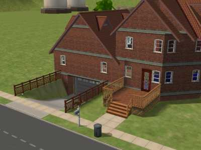 Mod the sims watanan house with underground garage for Classic underground house