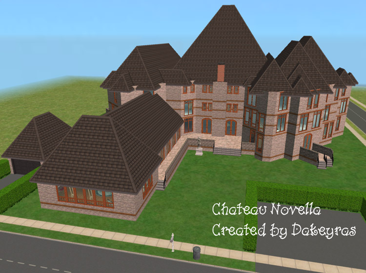 Mod the sims chateau novella for Novella homes