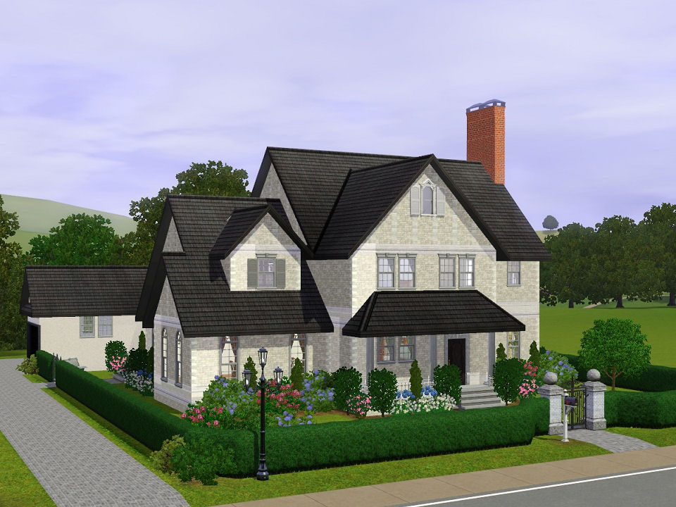 Mod the sims the winchester a fully furnished four for A four bedroom house