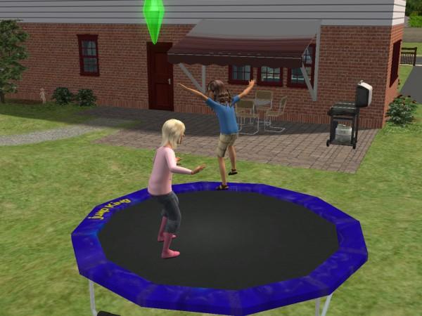 trampolina Sims 2
