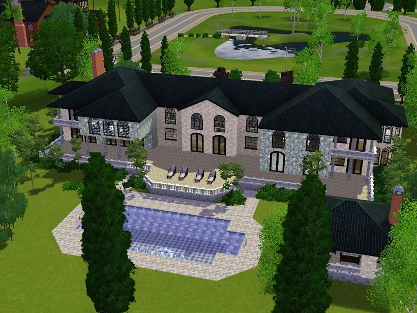 mod the sims grand mansion