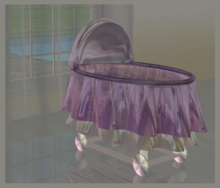 Mod The Sims Baby Crib