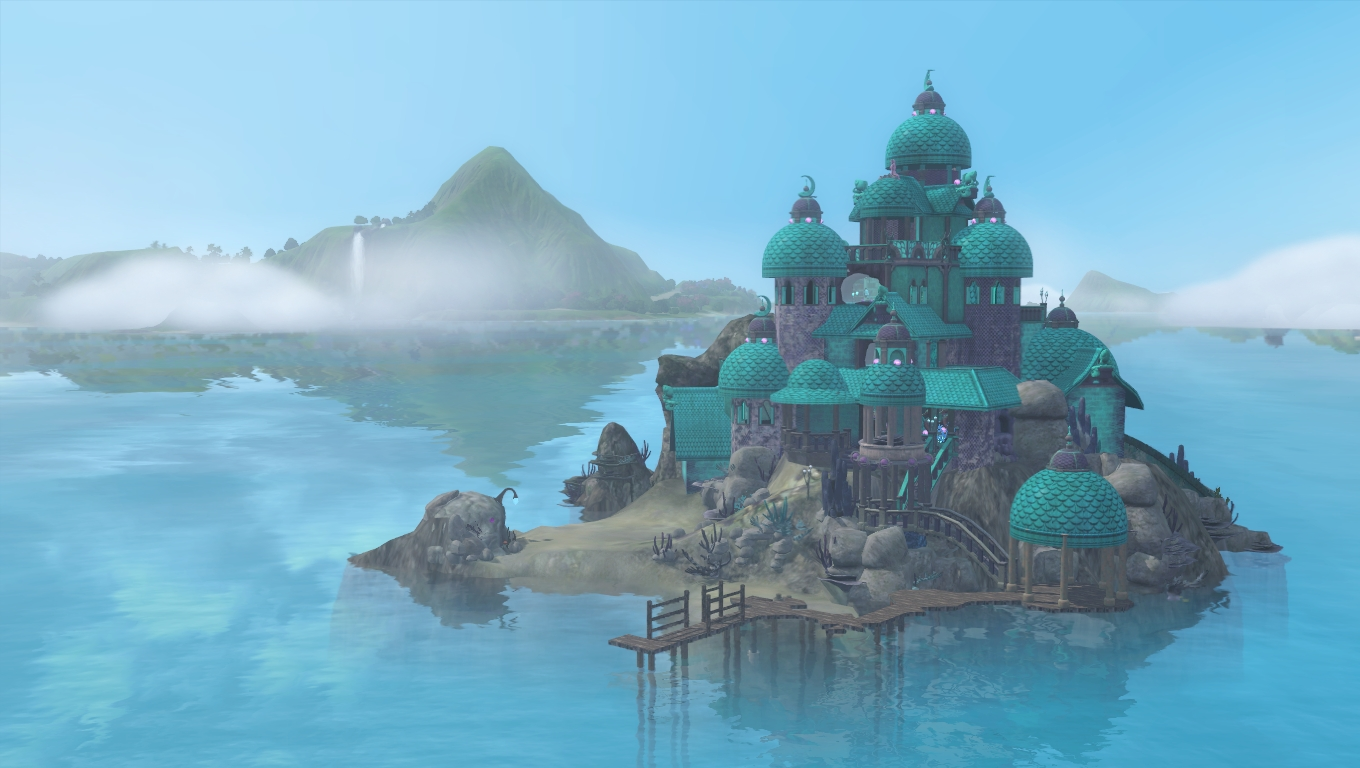 Mod The Sims Depths Rising Lair Sea Witch