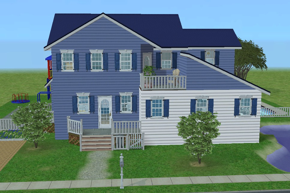 Mod the sims 20 abigail drive adorable family home for Large family home