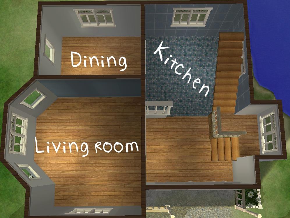 Easy Sims 3 Floorplans | Joy Studio Design Gallery - Best
