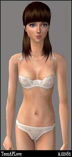 Mod The Sims - Female Teen: Sexy & Cute Undies