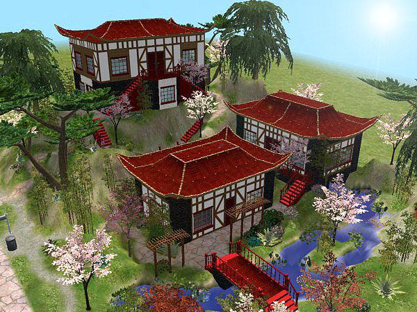 Build Pagoda Sims