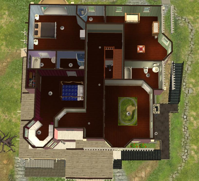 mod the sims pink palace from coraline