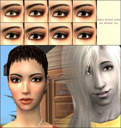 different shades of brown eyes - group picture, image by tag ...