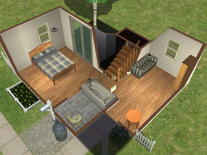 Click image for larger version Name  Sims2 2009 01 13 12 24. Mod The Sims   1x1 MiniStarter   Under 15k  No CC EPs