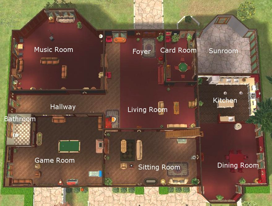 Inside Of Sims 3 Houses Bing Images