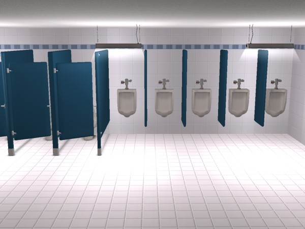 "Bathroom Stalls Sims 3 mod the sims - ""no peeping"" resistall astro divider 3"