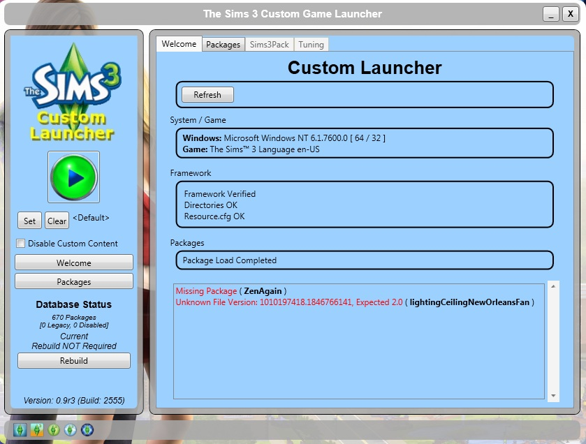 sims 2 custom content package file