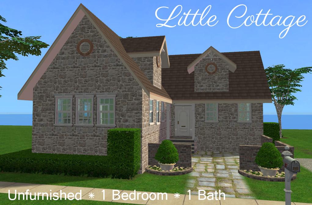 Mod The Sims Little Cottage Granny 39 S Retirement House