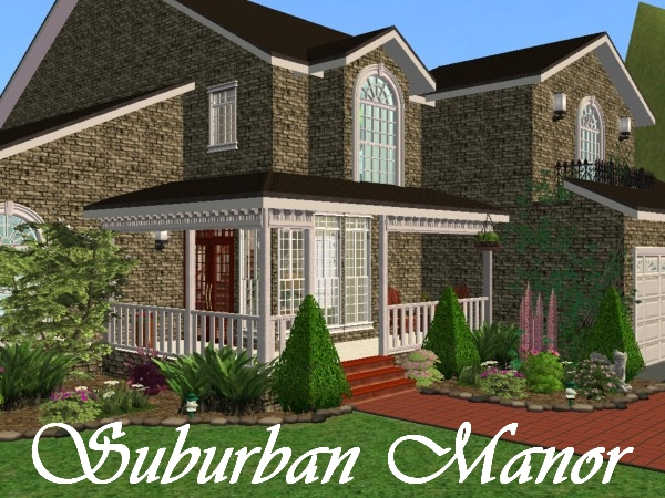 Typical american suburban house suburban american homes is - Mod The Sims Suburban Manor