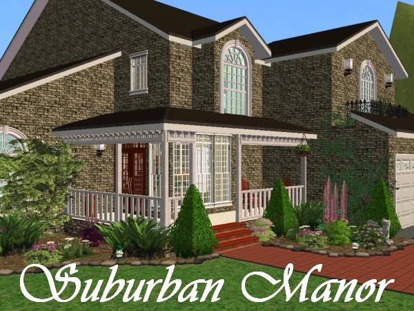 mod the sims - suburban manor