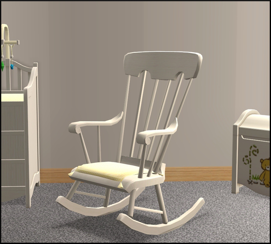 Eddie Bauer High Chairs Wooden Rocking Chair For Nursery Mod the sims - nursery add-ons
