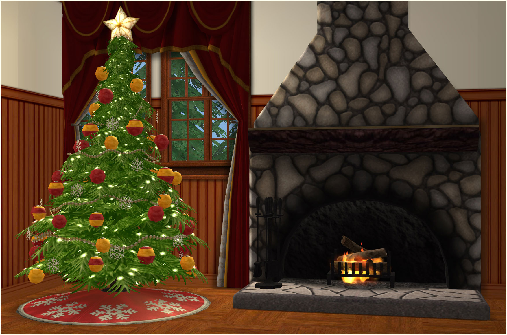 mod the sims christmas tree update 12192015 - 4 Christmas Tree