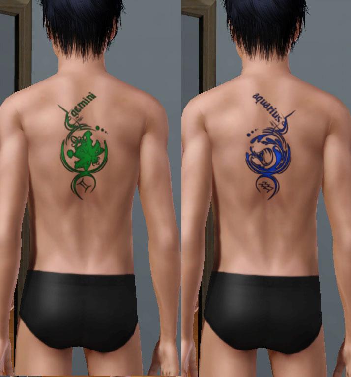 tattoos designs gemini. They still works like the