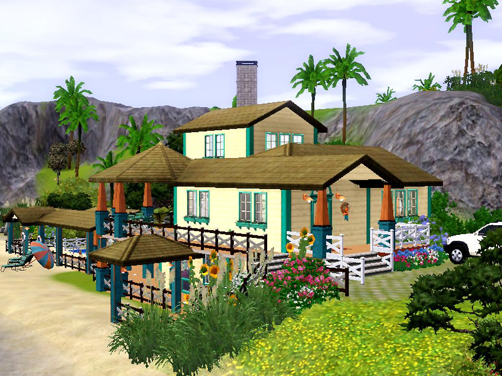Mod The Sims Sunny Beach House Base Game Only