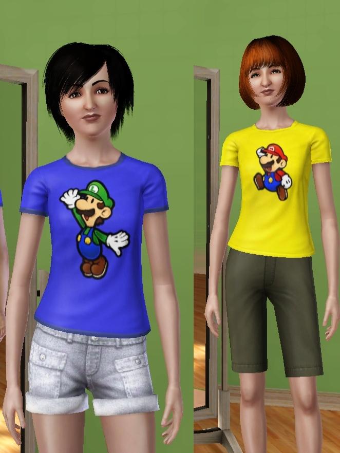 mario and luigi and peach and daisy. Mod The Sims - Nintendo Addict