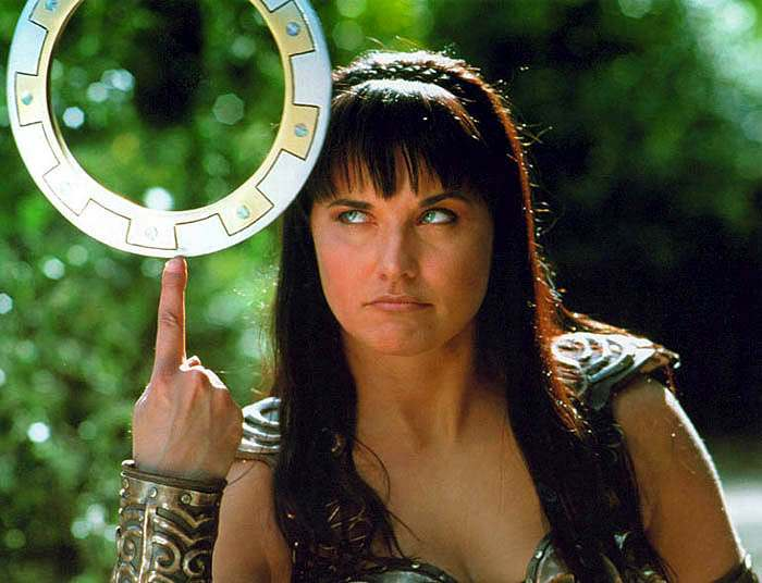 xena the warrior princess portrait