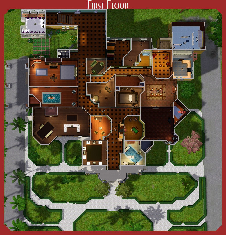 Mod The Sims The Winchester Mystery House