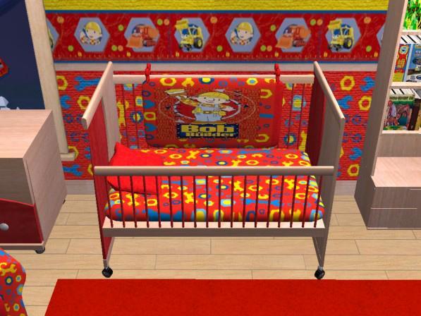 Mod The Sims Bob The Builder Nursery Bedroom VitaSims recolour – Bedroom Builder