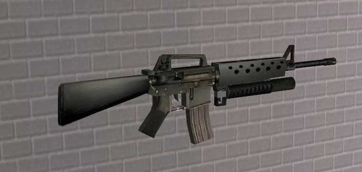 m16 m203 grenad...