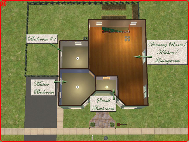 Mod the sims lil 39 flower shop home business requested for Flower shop design layouts