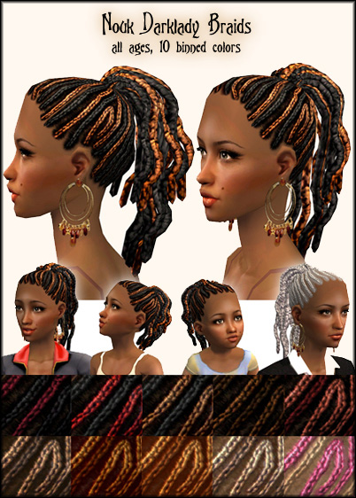 This hair is and ethnic hairstyle, but any girl could wear it!