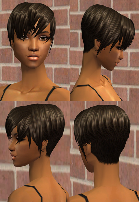 the sims 2 hairstyle. Mod The Sims - Nouk - Andre