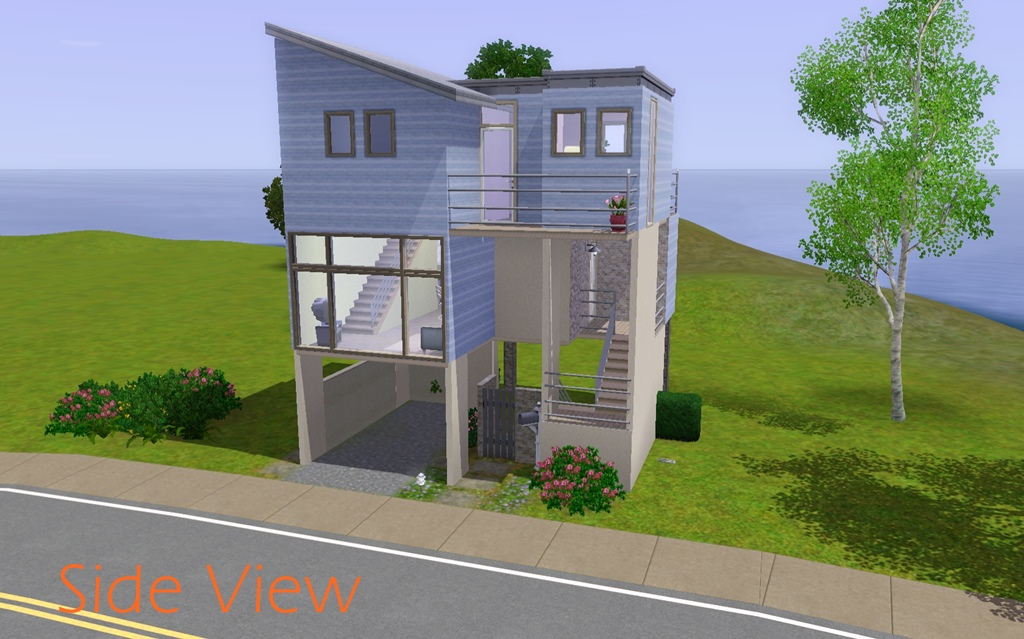 Constrain Floor Elevation Sims 2 : Mod the sims perch townhome
