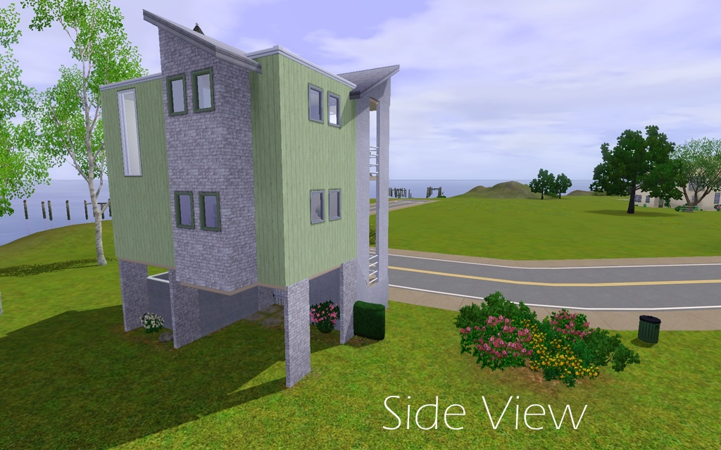 Constrain Floor Elevation Sims 2 : Mod the sims nest townhome