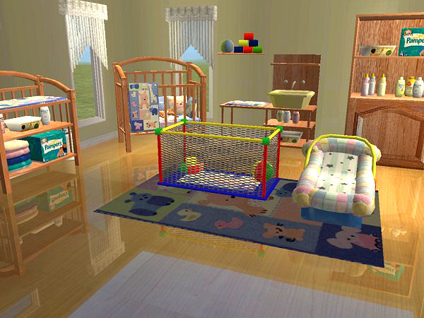 Mod The Sims - The 3000 Totts Baby\'s Dream