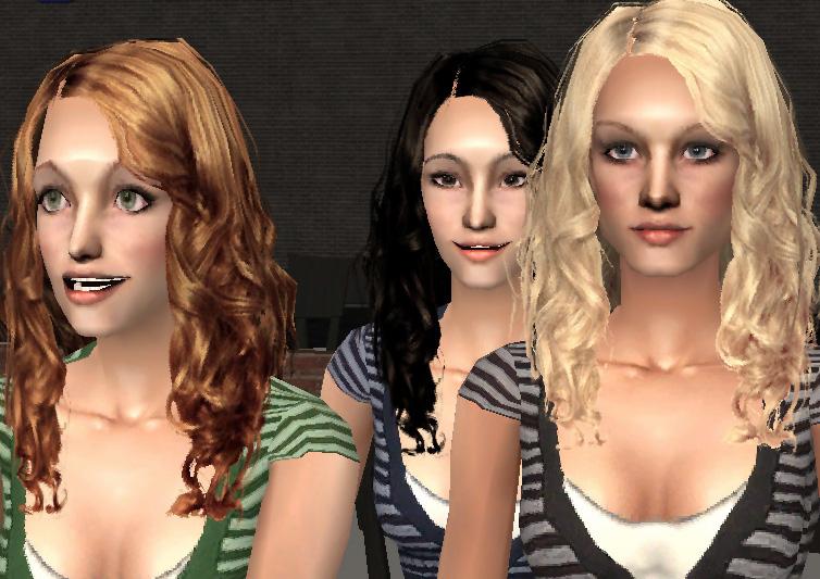 Sims 3 Curly Hair