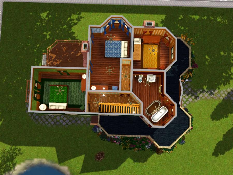 30X30 Home Floor Plans http://www.modthesims.info/download.php?t=366191