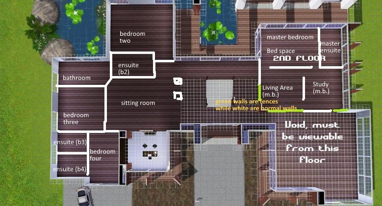 Mod The Sims   New Modern Mansion  need help   Floorplan    need Click image for larger version Name  Mod The Sims   New Modern Mansion  need
