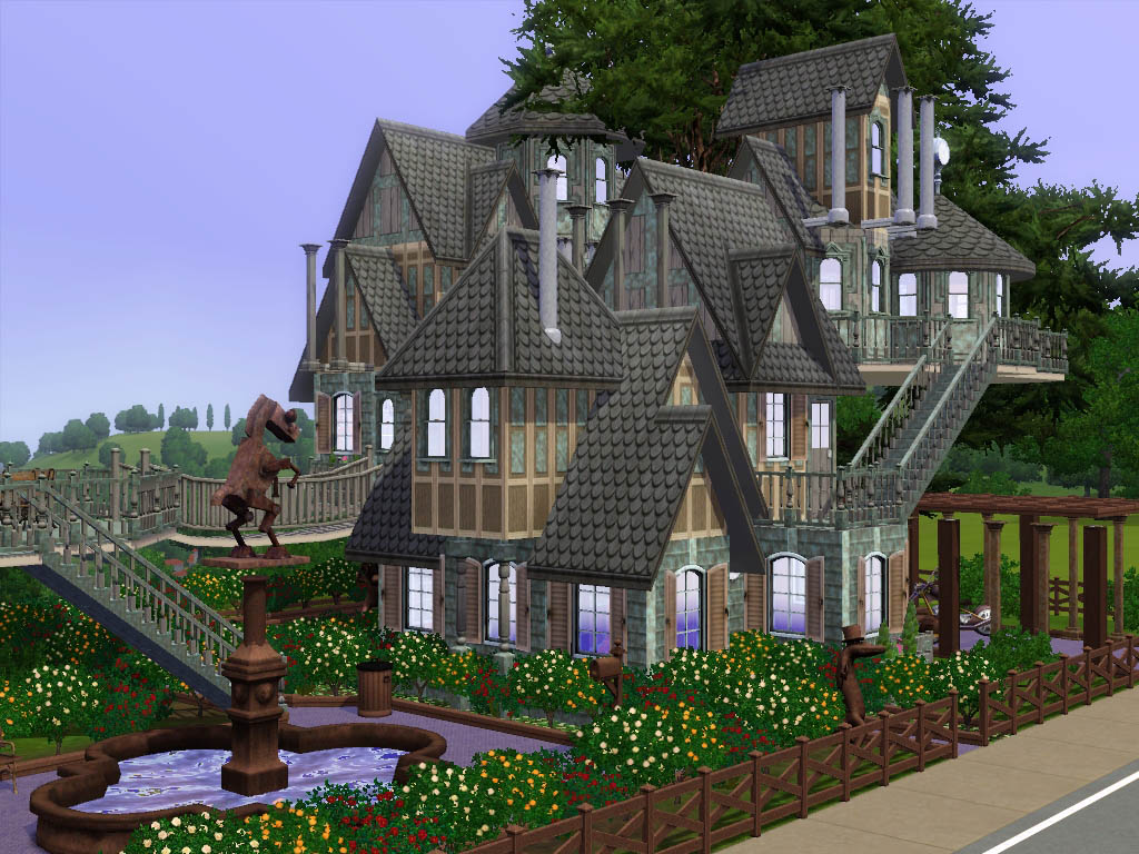 Mod the sims utopia no cc for Classic house sims 3