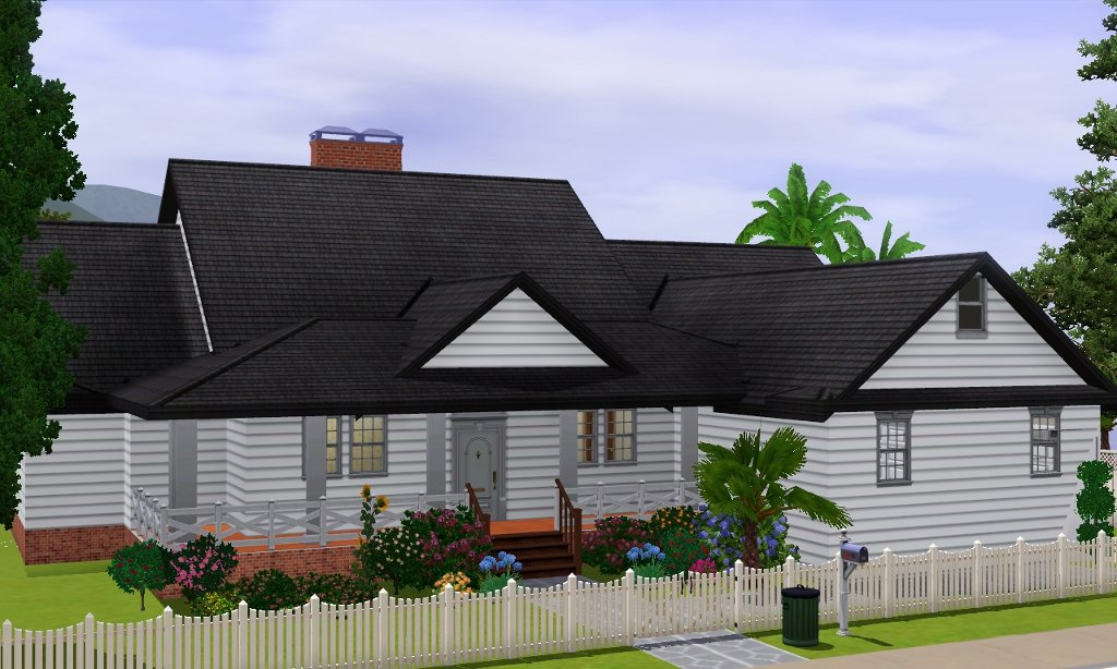 Mod the sims suburban retreat for Amazing plans com