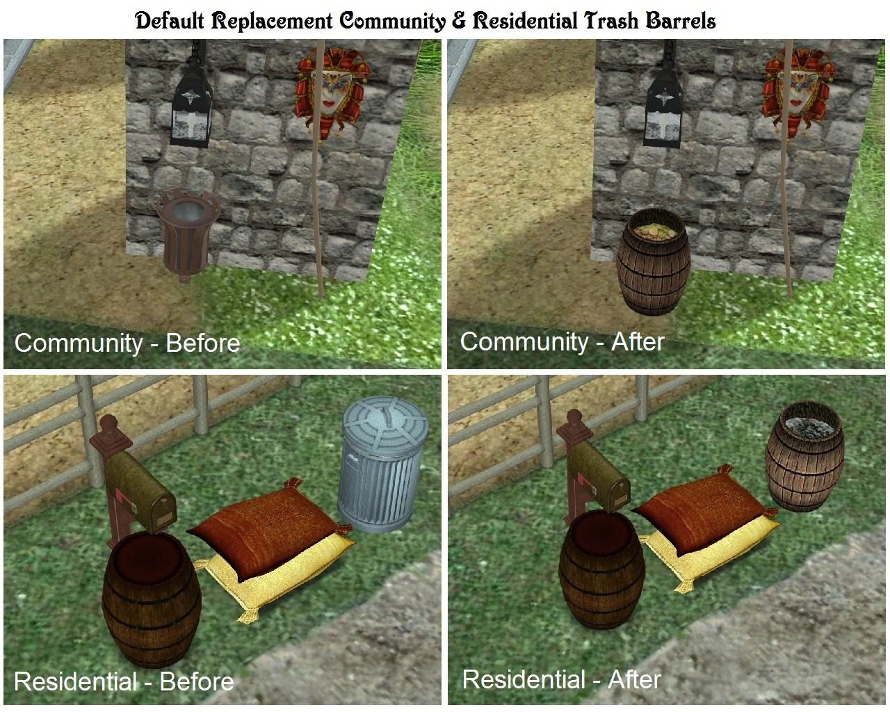 How to change community lot to residential in sims 4