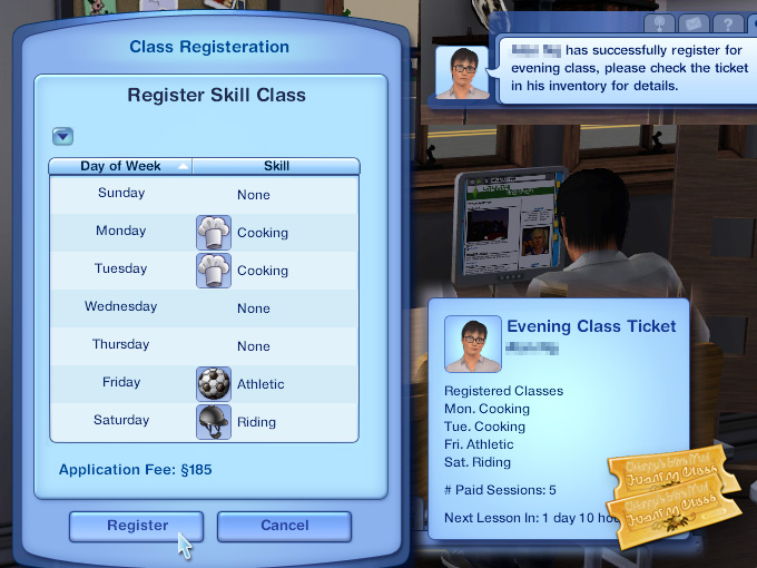 Evening School for Adult Sims MTS_Cherry92-1306658-register