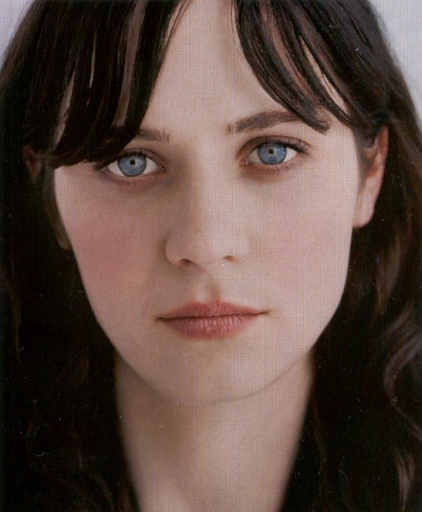 I personally prefer blue eyes with dark hair because it looks not only very