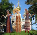 Описание: русский стиль в одежде.