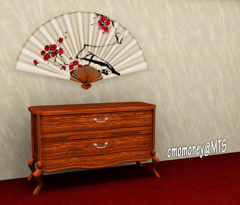 Decorative Wall Fans mod the sims - decorative wall fan
