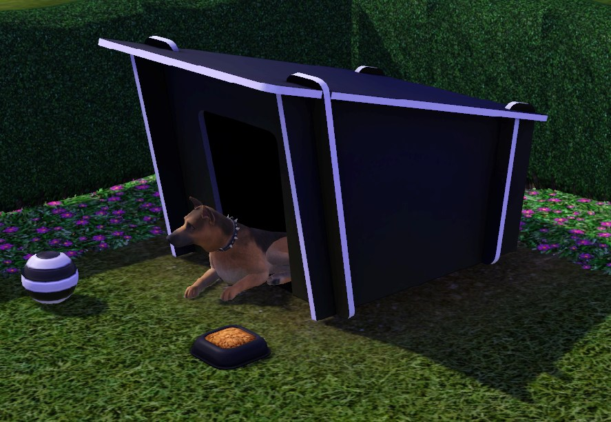 Mod The Sims Modern Dog House Updated 12 3 11