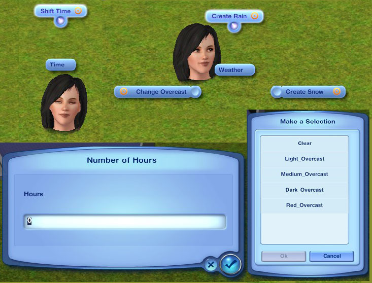 The Sims 2 Seasons.