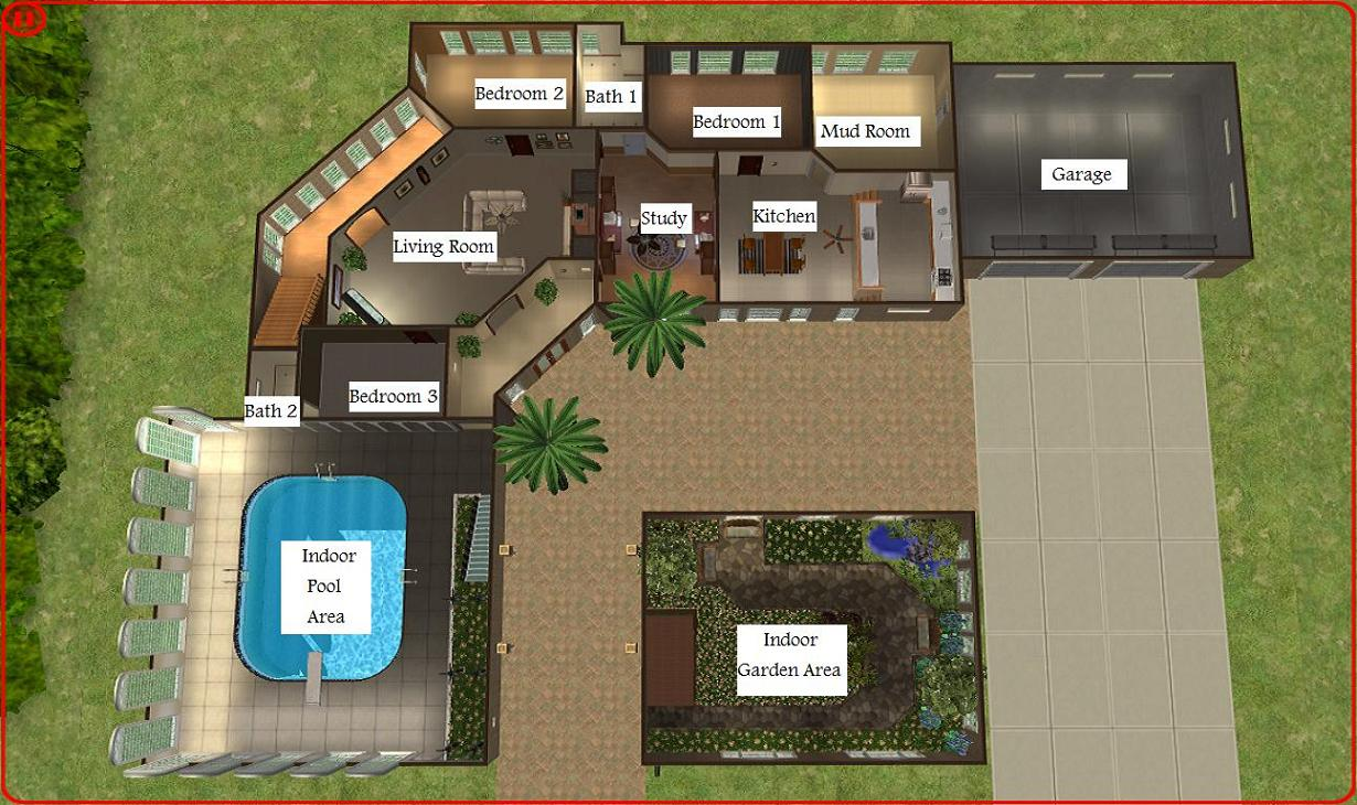 mansion floor plans sims 4 - Sims 4 Home Design 2